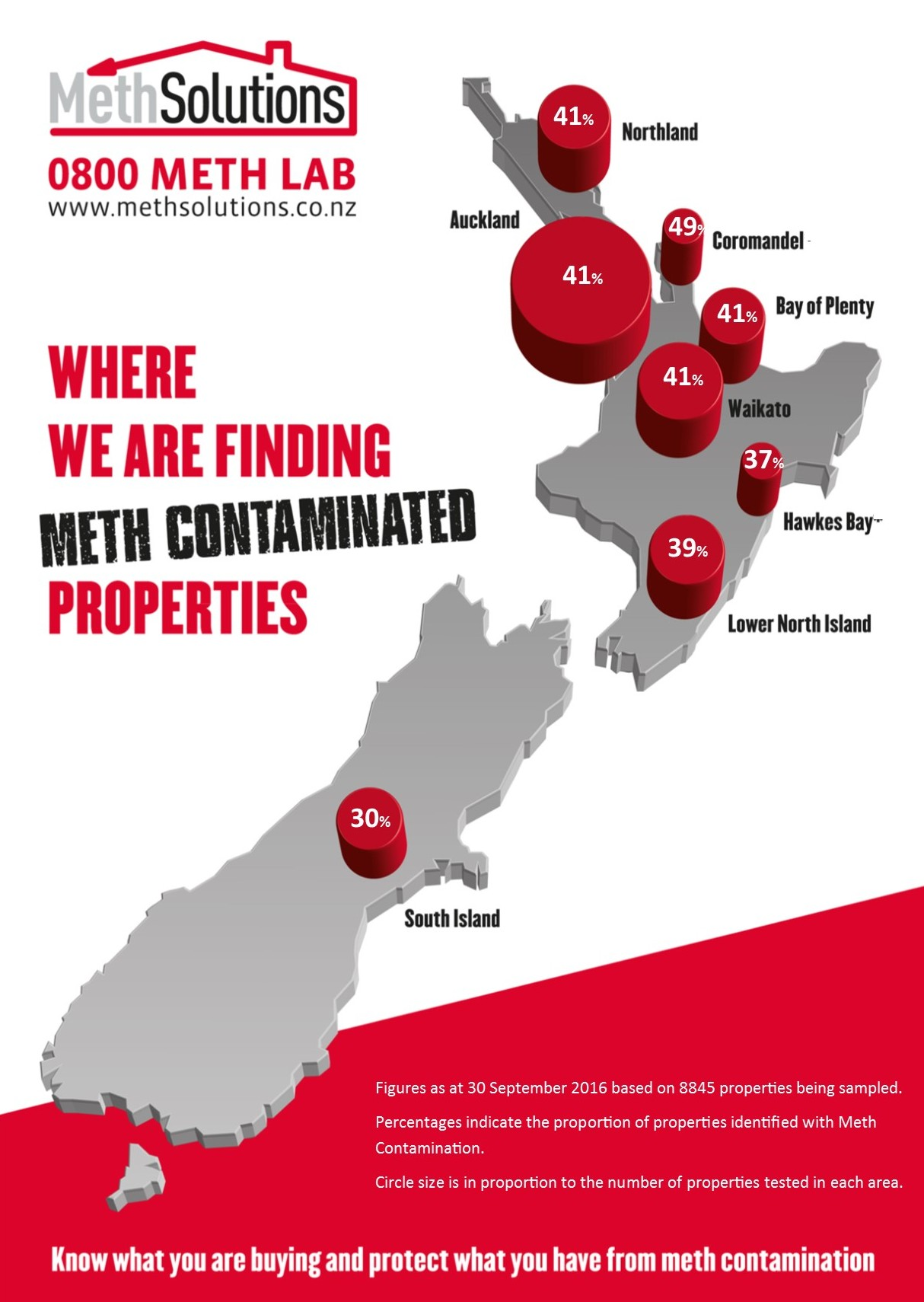 The MethMap of New Zealand – September 2016