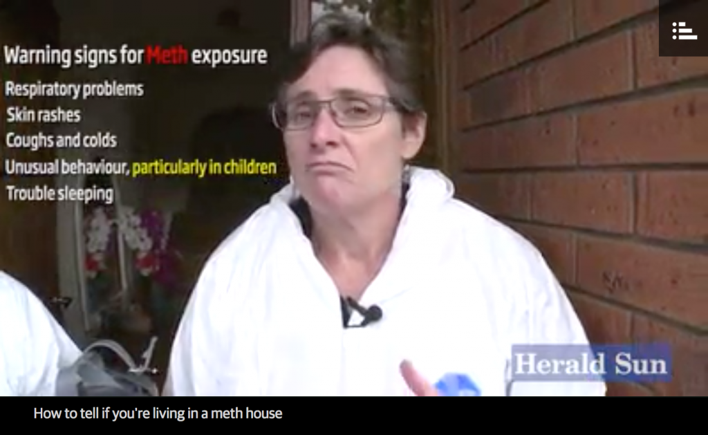 meth, p contamination, meth house, ice house, ice smokers, Dr Jackie Wright, MethSolutions,